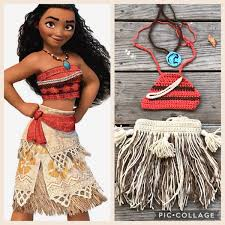 Disney Halloween Costume Patterns Image Disney U0027s Moana Crochet Costume Moana Disney