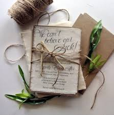 burlap wedding ideas rustic wedding invitation lucky wishbone wedding invitation ideas