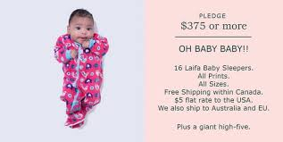 laifa baby sleepers by mortimer kickstarter
