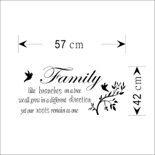 aliexpress com buy family likes branch removable wall art decal