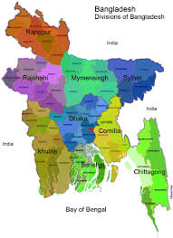 Bay Of Bengal Map Map Of Bangladesh In The World Divisions Name