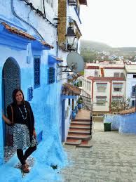 Morocco Blue City by Feeling Anything But Blue In Morocco U0027s U0027blue City U0027 Little