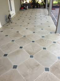 Tiles For Patio Floor Concrete Designs Florida Tile Patio With Insert