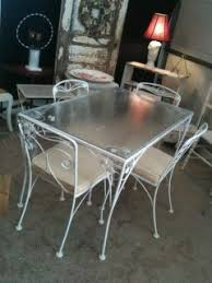 Cast Iron Bistro Table And Chairs 18 Vintage Wrought Iron Patio Furniture Ebay 26 Quot