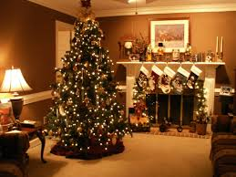 christmas fireplace wallpaper binhminh decoration