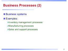 management information systems business processes information