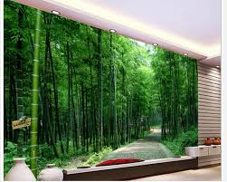 compare prices on bathroom wallpapers online shopping buy low home decoration 3d bathroom wallpaper road bamboo backdrop photo wall murals wallpaper china mainland