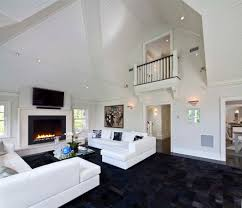 black and white interior colors for living room with designer wall