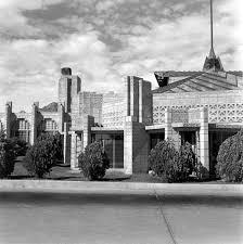 Ennis House Floor Plan by John Storer House Frank Lloyd Wright Foundation