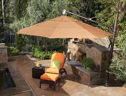 Offset Patio Umbrella With Mosquito Net by Decor U0026 Tips Interesting Offset Patio Umbrella For Patio Seating