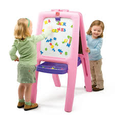 little tikes girls bed easel for two kids easel step2