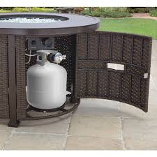 Propane Outdoor Fire Pit Table Better Homes And Gardens Colebrook 37