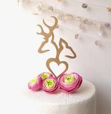 deer cake topper ideas buck and doe wedding cake topper icets info
