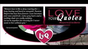 Long Lasting Love Quotes by Love Quotes 2015 Mature Love Is Like A Deep Roaring Fire Youtube