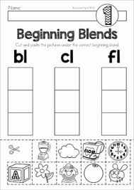 beginning blends and digraphs mats and worksheets word work