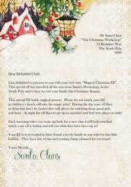 the 25 best christmas letter from santa ideas on pinterest rob