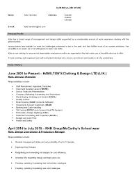 Address On Resume Kate Hamilton Resume 2015 Linkedin