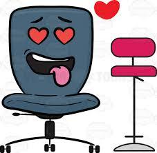 bar stool desk chair love struck swivel desk chair enamored with a bar stool cartoon