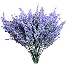 aplstar artificial flowers lavender bouquet in purple
