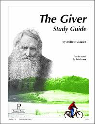 the giver study guide andrew clausen 9781586093358 amazon com