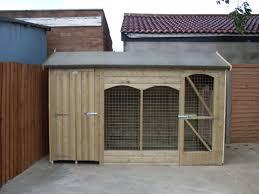 workshop dog kennels wooden kennels