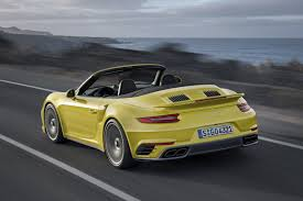 porsche 911 launch 2017 porsche 911 turbo s beats 918 spyder laferrari in mt launch