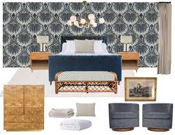 Traditional Master Bedroom - a bold and traditional master bedroom introduction emily henderson