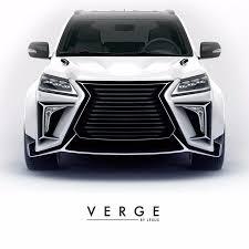 lexus 570 car 2016 lexus lx570 body kit verge auto performance pinterest cars