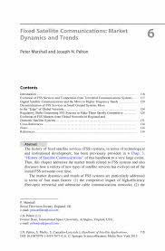 Introduction Letter Format For New Business by Fixed Satellite Communications Market Dynamics And Trends Springer