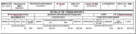 calculadora de salario diario integrado 2016 aportaciones y amortizaciones de créditos infonavit el conta