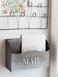 Diy Wall Mount Mailbox 14 Diy Mail Holder Ideas That U0027ll Have You Reaching For Your Glue