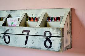 ana white numbered cubbies on the wall diy projects