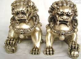 silver lion statue healing statue collectibles antique tibetan silver grand silver