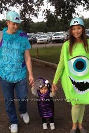 sully costume cool diy monsters inc family costume sully mike and boo sully