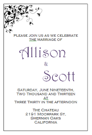 Marriage Invitation Sample Printable Wedding Invitation Templates Free Wblqual Com