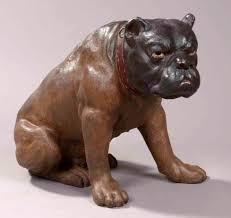 austrian vases antique austrian antique terracotta british bulldog statue c 1880