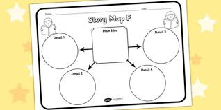 story map f worksheet story map f story stories story map