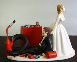 mechanic cake topper wedding cake toppers mechanic racing auto mechanic customized