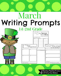 Creative Writing Prompts For Kids Worksheets Spring Writing Prompts For First Grade Planning Playtime