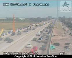 Houston Transtar Traffic Map Us 290 Hampered By Lost Load Near 610 Houston Chronicle