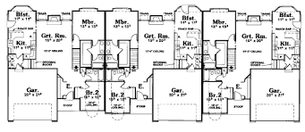 townhome plans townhouse plans and multi family townhome designs at coolhouseplans com