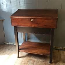 vintage wood desk vintage writing desk wooden storage desk with drawers