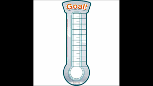 for fundraising or reaching goals a thermometer template excel
