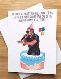 kanye birthday card kanye birthday greeting card vintage marketplace