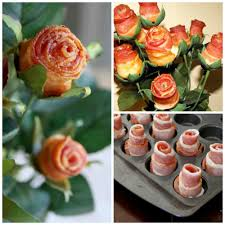 diy s day gifts for him how to make a bacon bouquet bacon and creative