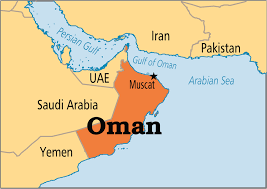 middle east map gulf of oman oman the sweden of the middle east