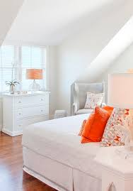Gray And Orange Bedroom Gray And Orange Bedroom Contemporary Bedroom Made By