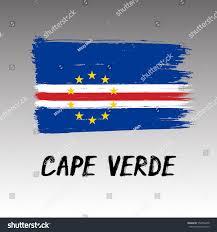 Flag Cape Flag Cape Verde Grunge Stock Vector 554006278 Shutterstock