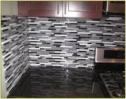 glass mosaic tile kitchen backsplash glass tile backsplash ideas kitchens mosaic subway regarding design