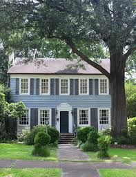 blue house white trim front door southern lagniappe the curb appeal of doors